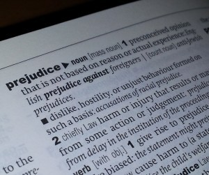 Prejudice - dictionary entry