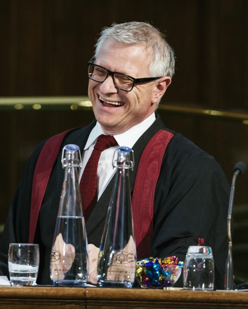 RCVS president Bradley Viner.