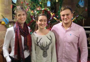 Bristol Veterinary School students hosted the candlelit carol service.