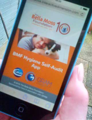Bella Moss Foundation Hygiene Self-Audit App