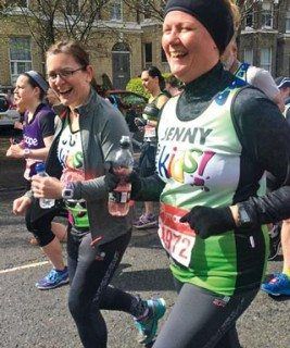 VBD's Jo Woods and Jenny King completed the marathon in five hours and 43 minutes.