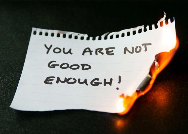 Destroy any thoughts you may have about not being good enough to impart advice. Image: Jane / Fotolia.
