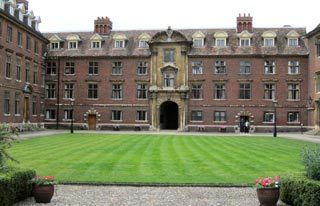 St Catharine's College, Cambridge. By Rept0n1x, CC BY-SA 3.0.