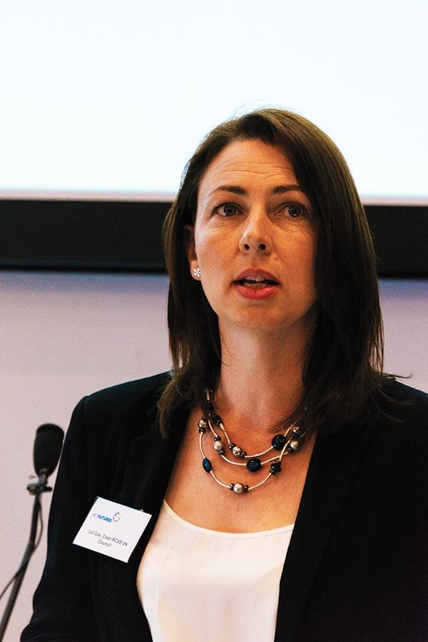 RCVS VN council chairman Liz Cox.