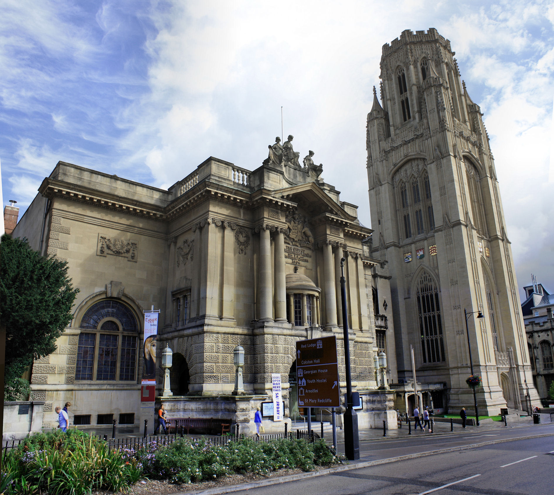The Wills Memorial Building