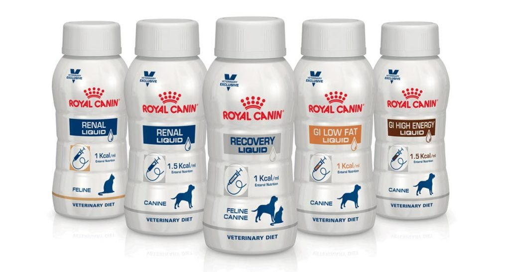The five formulas have been trialled in six small animal referral emergency units in Europe.