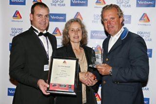 From left: Fraser Hodgson, Liz Harwood and William Funnell. Image: Julian Porch.