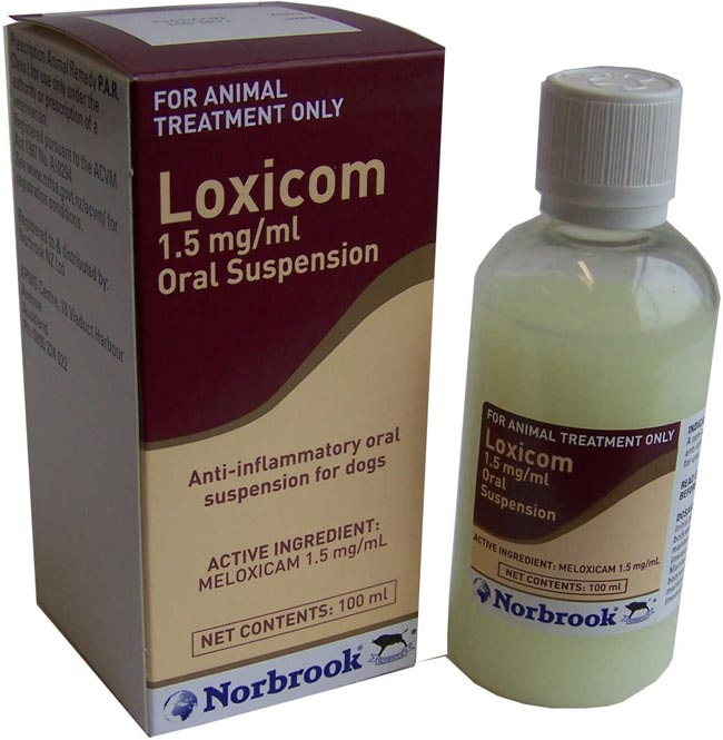 Loxicom 15mg/ml Oral Suspension for dogs.