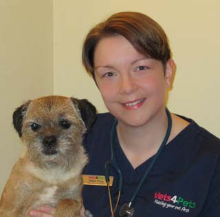Helen Trory, veterinary surgeon and owner at Vets4Pets York.