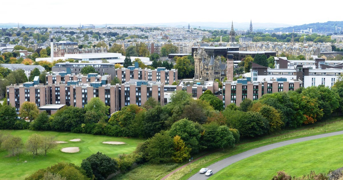 The inaugural Mind Matters Initiative research symposium will be held at the University of Edinburgh's Pollock Halls. Image: Kim Traynor, CC BY-SA 3.0.