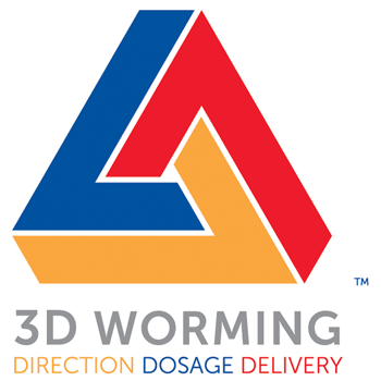 3d worming logo