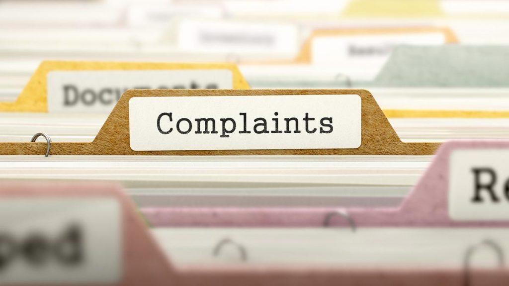 Complaints.