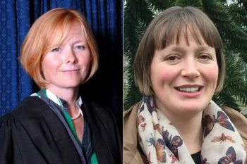 Andrea Jeffery (left) and Susan Howarth.