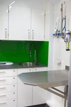 Catmobile's dental area