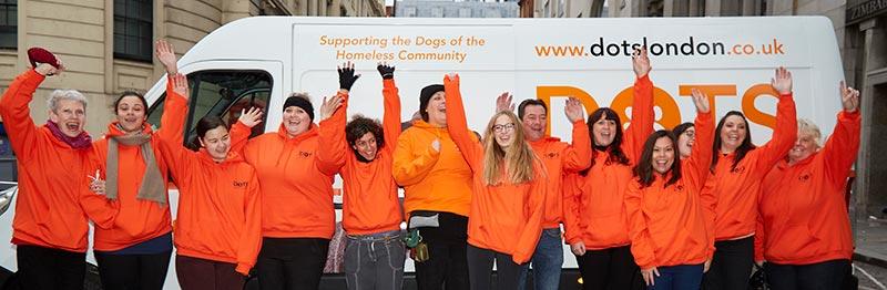 Vet van units charity on street to new period