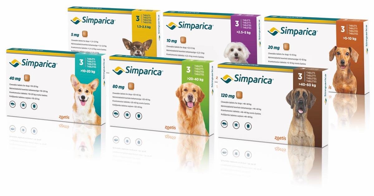 New mites declare for Simparica