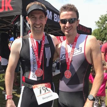 Vet takes on triathlon to assist autistic boy