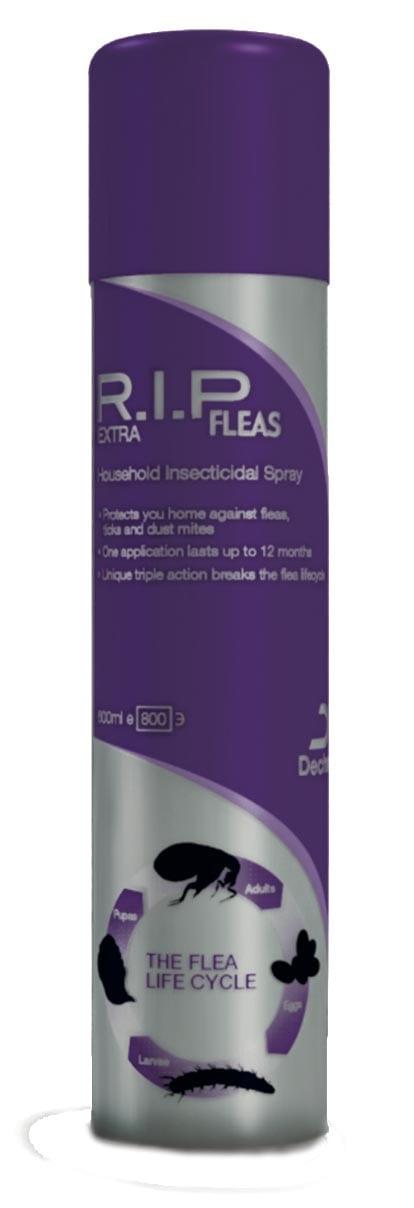 Flea spray stays authorised to be used