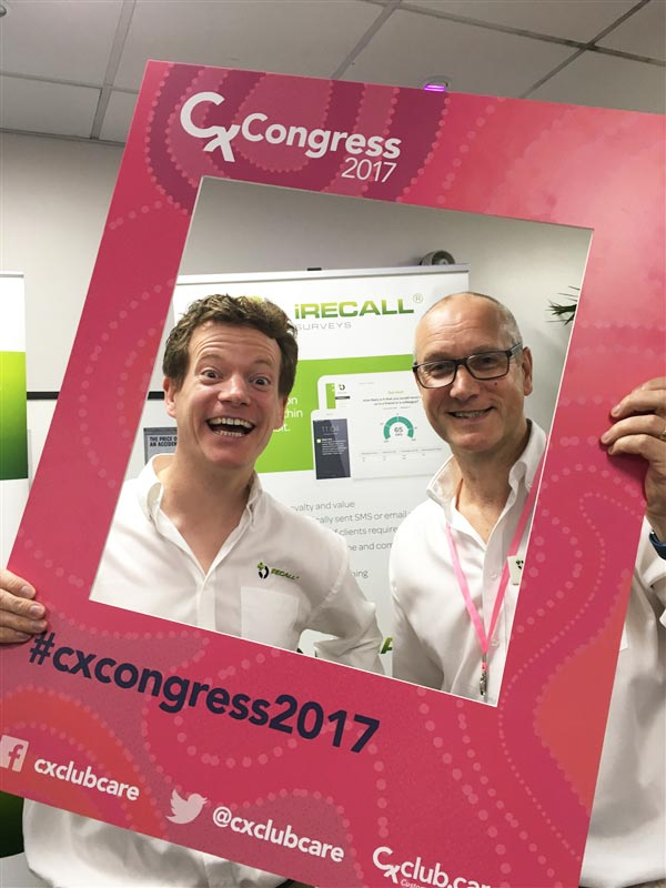 iRECALL at CX Congress 2017.