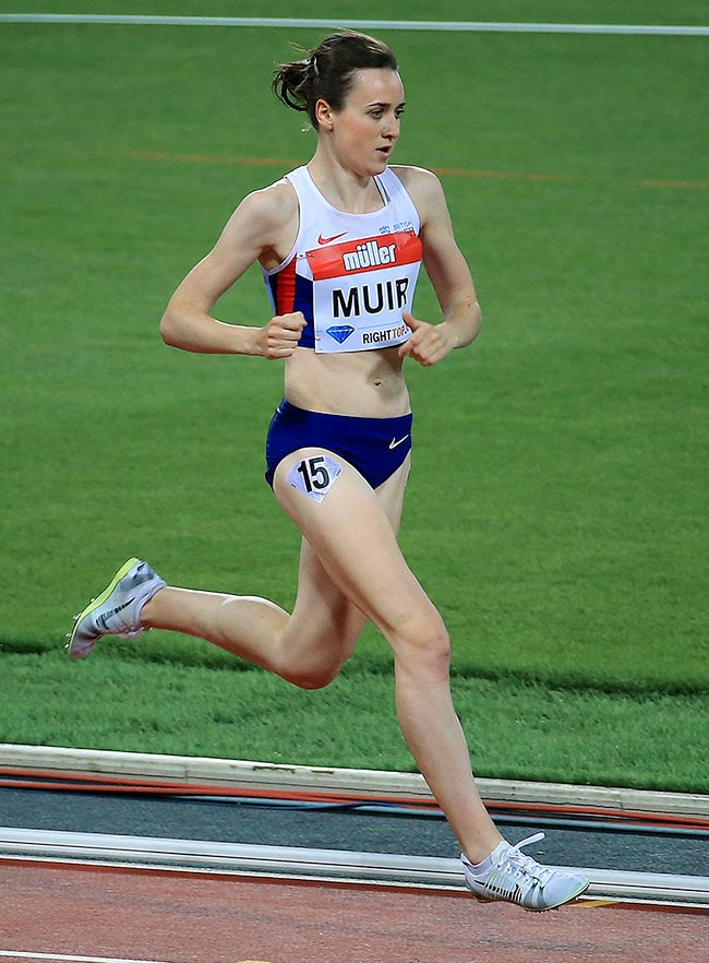 Catching up with Laura Muir