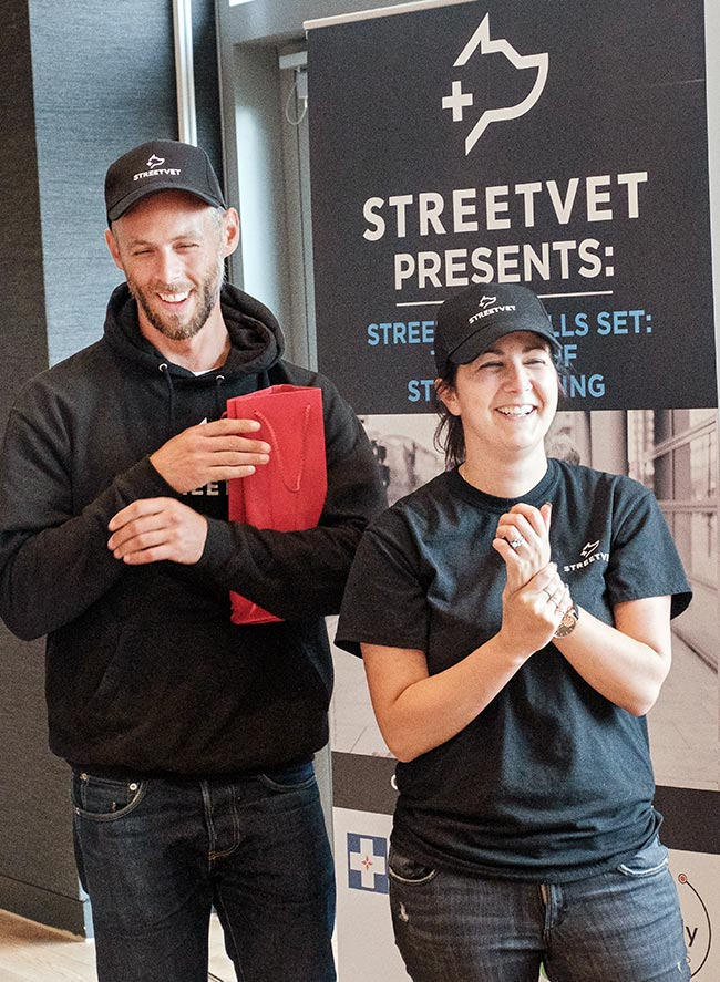 StreetVet founders obtain PM's award