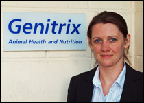 Genitrix equine account manager, Angela Clark-Mayers
