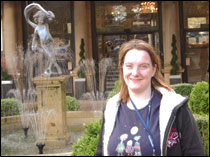 Locum VN Aileen McCalman-Hart pictured outside the Majestic Hotel  in Harrogate, where the Vets Now annual congress took place.