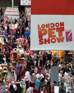 London Pet Show 2011, bursting at the seams.