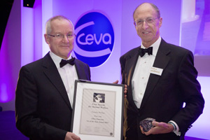 Plymouth-based vet Tim Phillips was awarded the Chris Laurence Vet of the Year award