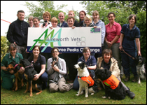 Vets, nurses and support staff from Aireworth Vets in Keighley will be tackling the Yorkshire Three Peaks challenge