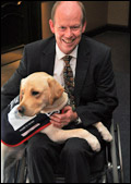 Hounds for Heroes founder and vice chairman Allen Parton