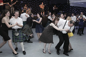 Dancing the night away at BSAVA