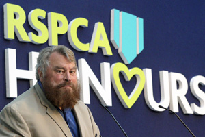 Brian Blessed hosted the 2011 RSPCA Honours award ceremony.