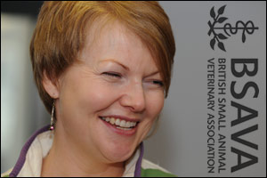 BSAVA membership development chair Patricia Colville