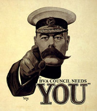 BVA  Council Needs You! Why not nominate yourself as a regional  representative on BVA Council?