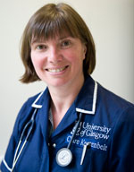 Clare Knottenbelt, professor of small animal medicine and oncology at the University of Glasgow's Small Animal Hospital.