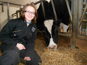 Nottingham vet student Eva Kenny wants help with her research project.