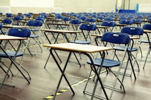 Empty exam halls prompt final phasing out of RCVS diplomas.