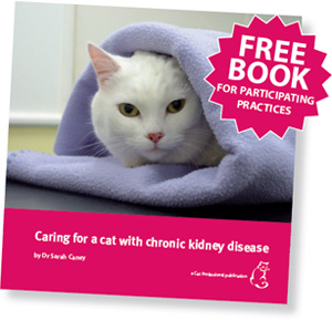 Caring for a cat with chronic kidney disease by Sarah Caney, published May 2011.