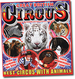 Great British Circus flyer from 2010