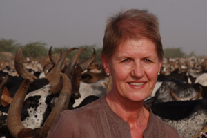 Welsh CVO Christianne Glossop has just returned from Africa