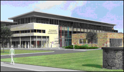 Artists  impression of The Jeanne Marchig International Centre for Animal  Welfare Education