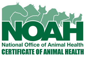 News syllabus for NOAH Certificate of Animal Health.
