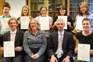 Seven new graduands to the RCVS
