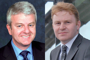 Stuart Carmichael (left) and John Innes will be discussing osteoarthritis in a two-part webinar