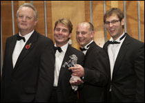 Mark Lingard, Simon Wheeler, Andrew Dobson and Mark Murrell
