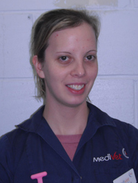 Rachael Buckwell continued to operate while firefighters fought the blaze