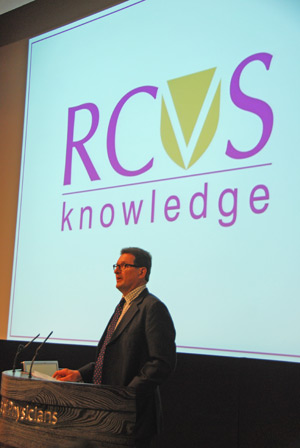 Mr Royle launched the rebrand of the trust at RCVS Day on July 5, 2013.