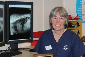 AHT head of diagnostic imaging Ruth Dennis