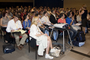Delegates in a lecture at last year's SEVC